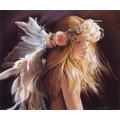 """Схема вышивки s88-005 """"Ангел изящных искусств"""""""