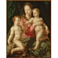 "Схема вышивки s79-008 ""Мадонна с младенцем"""