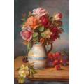 "Схема вышивки s90-004 ""Розы и вишни"""