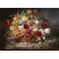 """Схема вышивки s90-006 """"Букет цветов в медной вазе"""""""