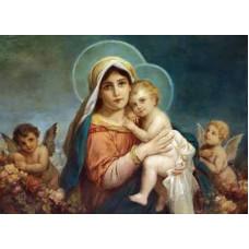 "Схема вышивки s90-021 ""Мадонна с младенцем"""