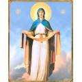 """хема вышивки s01b-014 икона  """"Пресвятая Богородица Покров"""""""