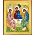 """хема вышивки s01s-010 икона  """"Святая Троица"""""""