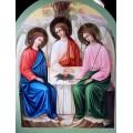 """хема вышивки s01s-012 икона  """"Святая Троица"""""""