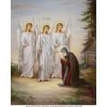"""хема вышивки s01s-013 икона  """"Святая Троица"""""""