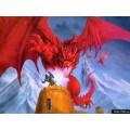 """Схема вышивки s02dr-004 """"Красный дракон"""""""