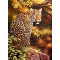 "Схема вышивки s02le-004 ""Леопард"""