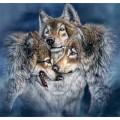 """Схема вышивки s02vol-003 """"Волки"""""""