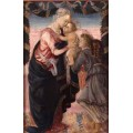 "Схема вышивки s30-001 ""Мадонна с младенцем и ангелом"""