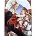 "Схема вышивки s30-002 ""Мадонна с младенцем и ангелом"""