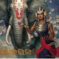 """Схема вышивки s60-046 """"Девушка и слон"""""""