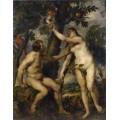 """Схема вышивки s65-002 """"Адам и Ева"""""""