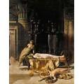"""Схема вышивки s67-004 """"Смерть Клеопатры"""""""