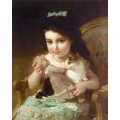 """Схема вышивки s74-012 """"Маленькая девочка"""""""
